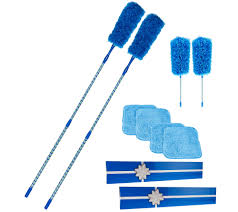 Set of 2 5 pc Microfiber Duster Sets by Campanelli - V34117