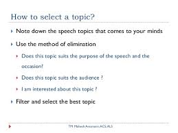 how to select a speech topic  speech topic you know nothing about 8