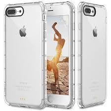 chanel iphone 7 plus case. for apple iphone 7 plus case clear hybrid slim shockproof soft tpu bumper cover chanel iphone