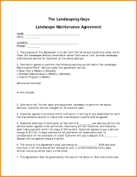 Sample Maintenance Contract Template Template Equipment Maintenance Contract Template Agreement And 17