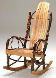 rustic wooden rocking chairs. Wonderful Wooden Rocker Hickory And Rustic Wooden Rocking Chairs