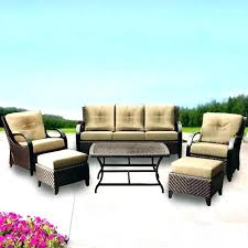 costco patio furniture patio chairs patio furniture replacement cushions for the woven six piece set outdoor
