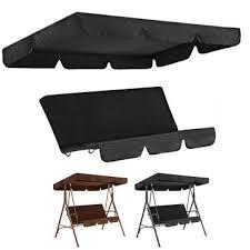 3 seater waterproof garden swing chair