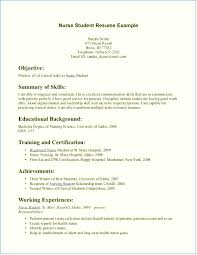 Nursing Student Resume Cover Letter Examples Nursing Student Resume Cover Letter emberskyme 17