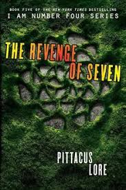 the book cover of the revenge of seven jpg front cover of the revenge of seven author pittacus lore country united states