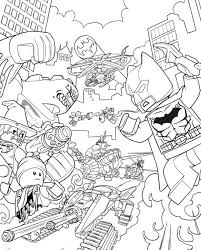 Kids N Funcom 16 Coloring Pages Of Lego Batman Movie Free Lego