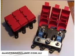 electrical fuse boxes 4x4offroadclinic ami fuse box sub panel blue sea systems 100amp max 32 volts