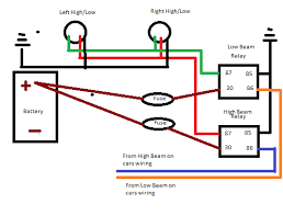 wiring diagram headlamp relay wiring image wiring headlight relay wiring diagrams headlight auto wiring diagram on wiring diagram headlamp relay