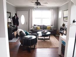 image result for tiny living room with front entry layout