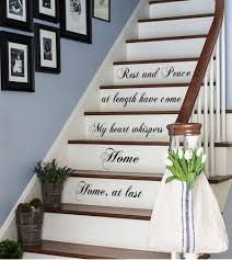Stairs Wall Decoration Ideas Stair Decor Ideas To Make Your Hallway Look Amazing