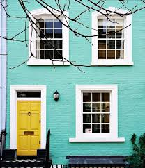 Turquoise + Yellow Inspiration | Aqua, Bricks and Turquoise