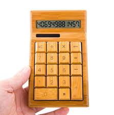 get ations jingzou solar calculator creative 12 bamboo finance calculator office student gift