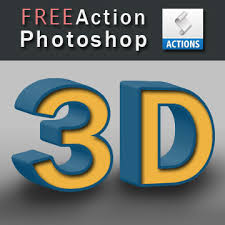 photoshop effects free 3d photoshop action free download 3d effects actions for
