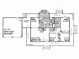 one story floor plans with wrap around porch best of eplans farmhouse house plan wraparound porch
