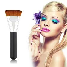 details about fashion beauty woman s pro 163 flat contour brush big face blend makeup brush
