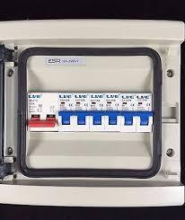 vconsumer unit fuse box 6 mcb circuit breakers 100a isolator shed Shed Fuse Box vconsumer unit fuse box 6 mcb circuit breakers 100a isolator shed garage caravan 3 \u2022 £ shed fuse box wiring diagram