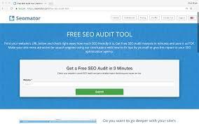 SEO Audit Tool and SEO Website Analysis - Seomator