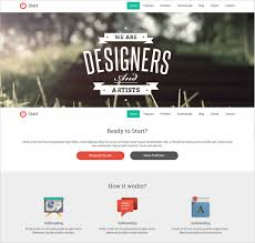 Single Page Website Template Custom One Page Website Template JaLevy Designs