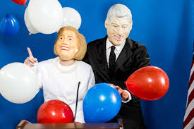 Image result for halloween with bill clinton