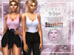 Alaina Lina's Gia Bodysuit – Sweet Sims 4 Finds