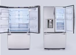 white refrigerator french door. three door refrigerator french black stainless steel white with thru