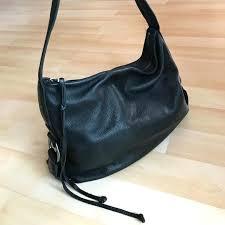 banana republic leather handbags black pebbled purse messenger bag