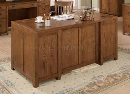 classic office desk. light wood finish classic office desk wantiqued hardware n