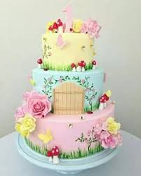 Small Picture Fairy Garden Cake by JoTakestheCake FairyFairy Tale Cakes