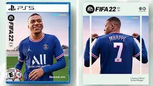 PSG's Kylian Mbappe is FIFA 22 cover star and faces off against Real Madrid