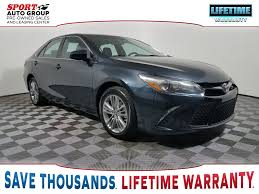 toyota camry 2016 sport. preowned 2016 toyota camry se sport t