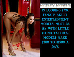 Motley Models is looking for women with little to no tats.
