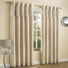 amalfi natural crushed velvet eyelet curtains tonys textiles ring top curtains