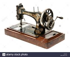 Antique Singer manual sewing machine Stock Photo, Royalty Free ...