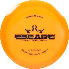 Dd Flight Chart Dynamic Discs Lucid Escape