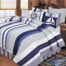 Nautical Bedding 20% f Quilts Bedspreads & forter Sets