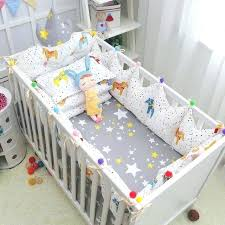 fairy crib bedding sets cozy baby crib bedding complete set fairy tales style cotton baby cot linens kit include crown fairy tale crib bedding set