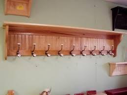 9 hooks large hallway wall hanging rack