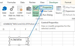 Calendar From Excel Data How To Insert Calendar In Excel Date Picker Printable