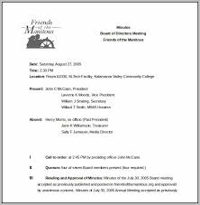 board of directors minutes of meeting template corporate board meeting minutes template template resume