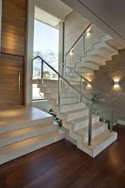 glass stair railing design 40 stair railings of glass airy feel in the interior railing