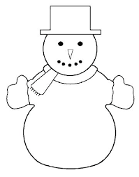 Template Of A Snowman Snow Man Template Magdalene Project Org