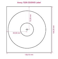 Avery Labels Dvd Avery 7225 Cd Dvd Label Cd Dvd Labels Avery 7225 Cd Dvd Label Cd