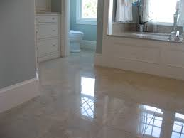 marble floor in master bathroom was damaged with the usual traffic wear and wrong cleaning s honing and polishing red this floor