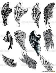эскизы тату крылья на спине клуб татуировки фото тату значения