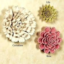 >ceramic flowers wall art india ceramic flowers wall art india best  ceramic flower blossom wall art uk