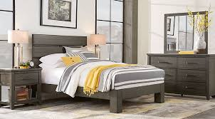 Bedroom Image Urban Plains Gray 5 Pc Queen Slat Platform Sets Colors Home  Tips Architects Sophisticated