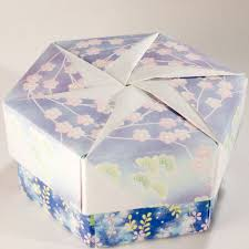 Decorative Gift Boxes With Lids Decorative Hexagonal Origami Gift Box with Lid 60 Flickr 50