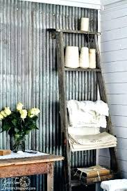 galvanized metal decor ways to decorate with corrugated metal decorating your small space galvanized metal decor galvanized metal decor
