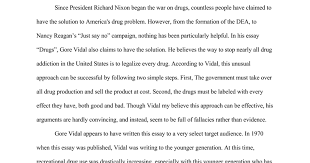 bad effects of drugs essay an essay sample on the causes effects of drug abuse