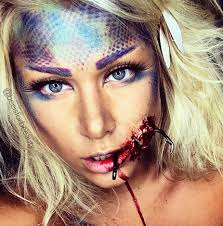 hooked mermaid makeup tutorial